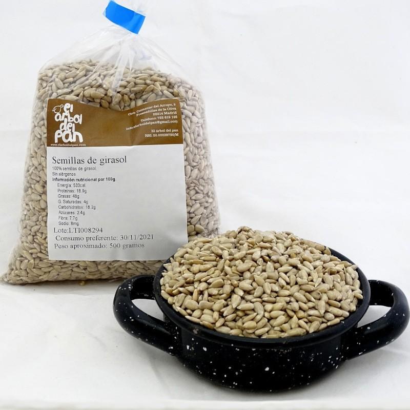 Semillas de girasol 500 gramos