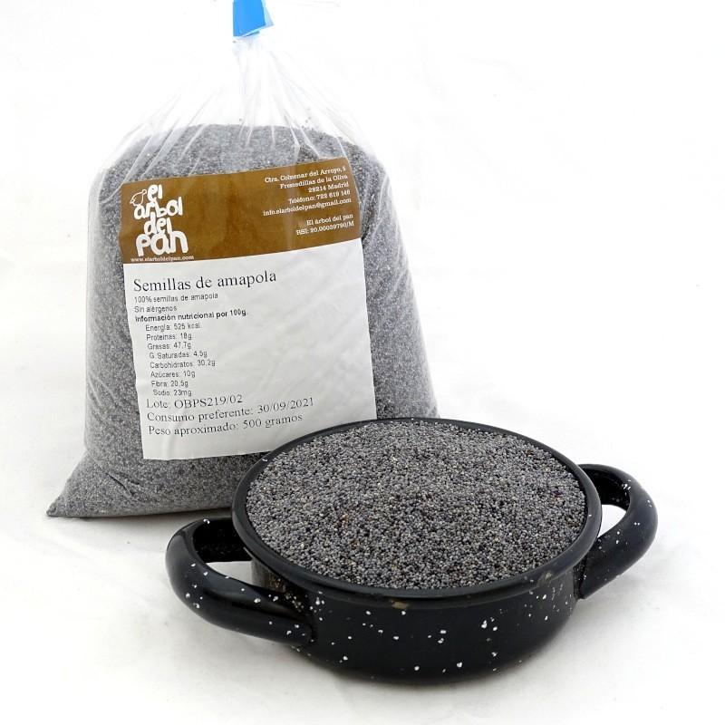 Semillas de amapola 500 gramos