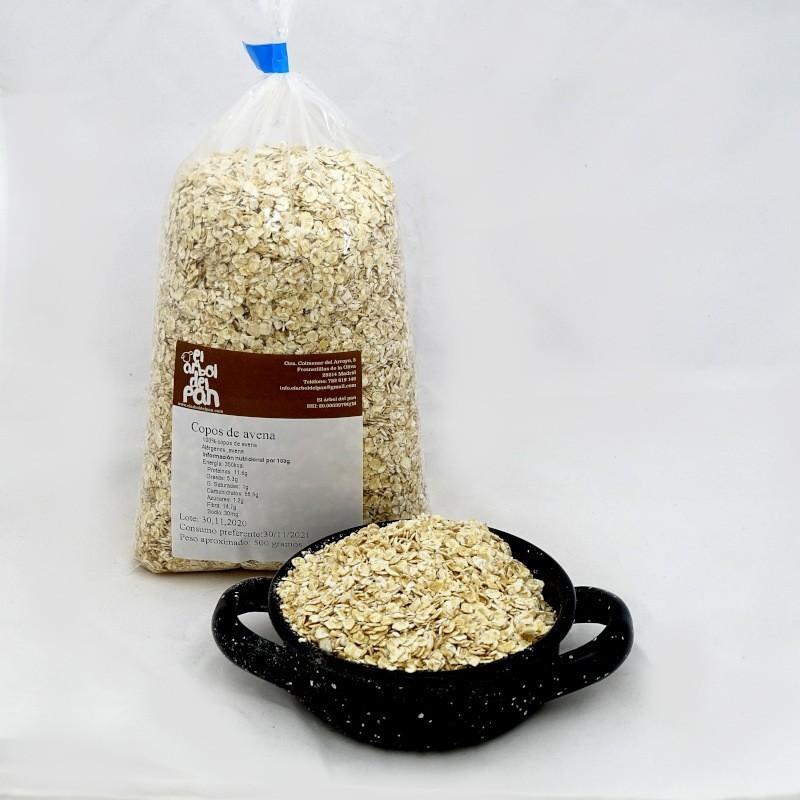 Copos de avena finos 500 gramos