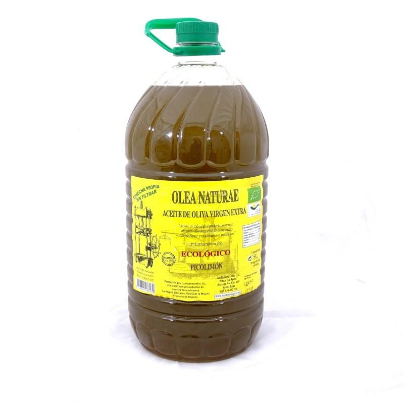 aceite ecológico variedad picolimón