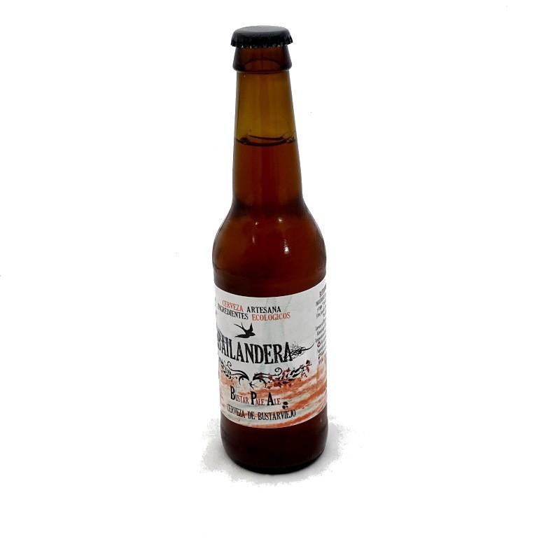 Cerveza artesana Bustar Pale Ale 33 cl