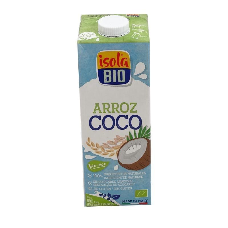 Bebida vegetal de arroz y coco 1 litro