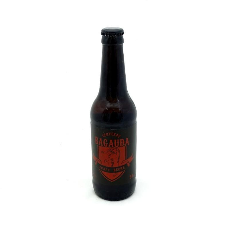 Cerveza artesana bagauda la jabata 33 cl