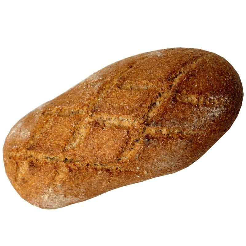 Pan integral de trigo. Hogaza 500 gr.