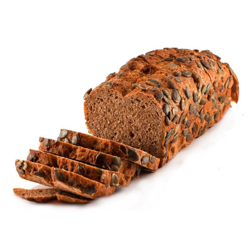 Pan integral de espelta con semillas...