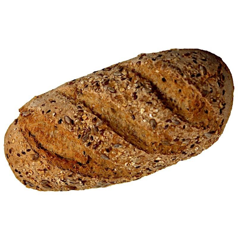 Pan integral de cereales con...