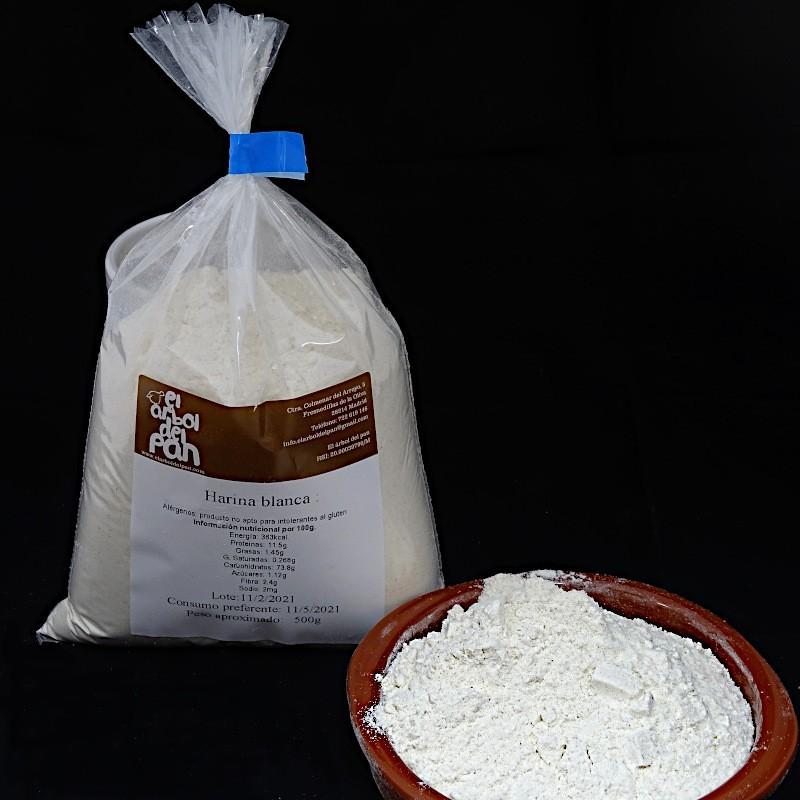 Harina blanca de trigo 500 gramos
