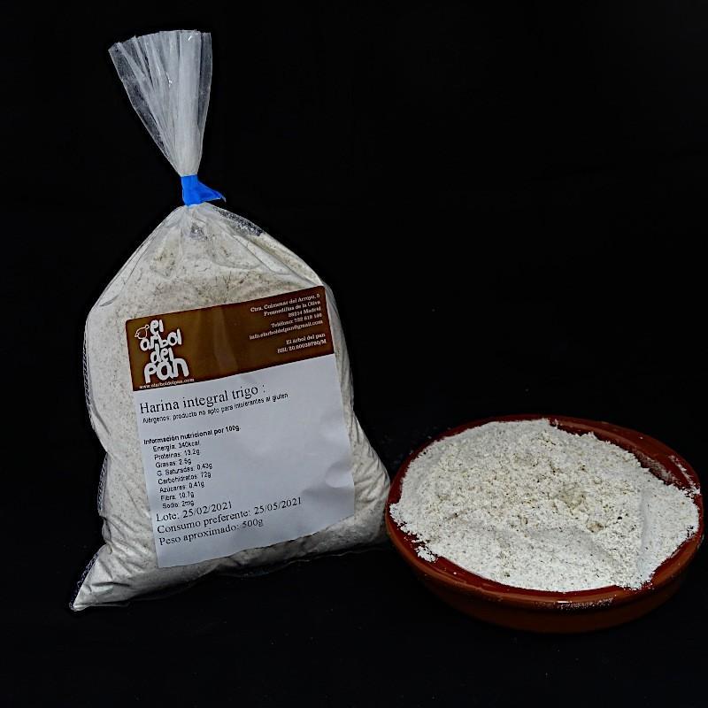 Harina Integral de trigo 500 gramos