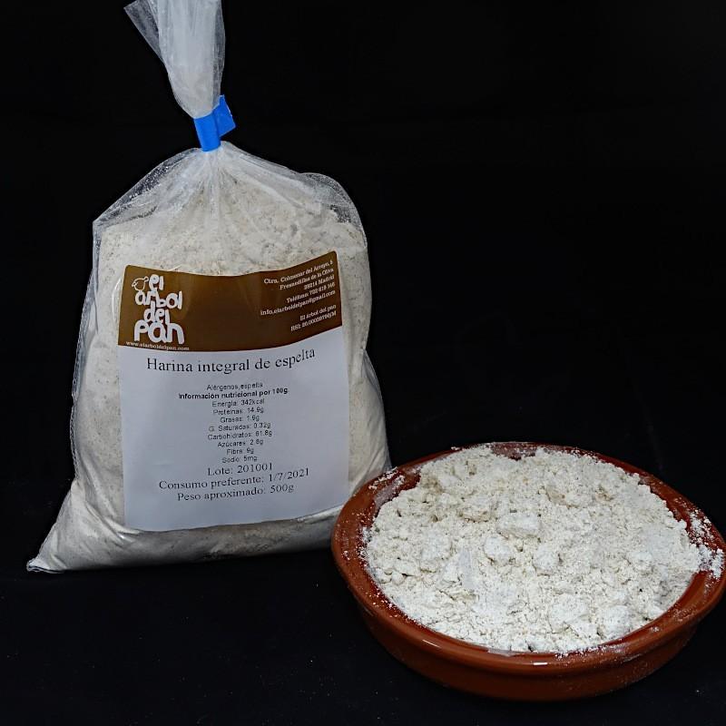 Harina Integral de espelta 500 gramos